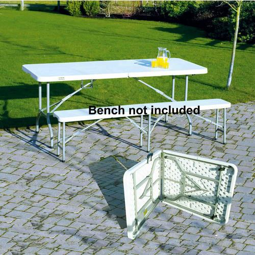 Clarke 6ft 1830mm Hd Pe Folding Canteen Table