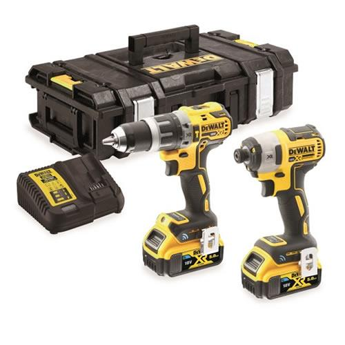 Dewalt Dck2500p2b 18v Brushlesst Twin Kit
