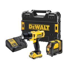 Dewalt Dck215d2t 10.8v 2 Piece Kit