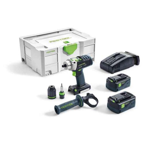 Festool Quadrive Pdc18/4 Li 5.2 Plus Sca Gb