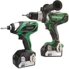 Hitachi Kc18dkl/jb 18v Twin Pack 5.0ah