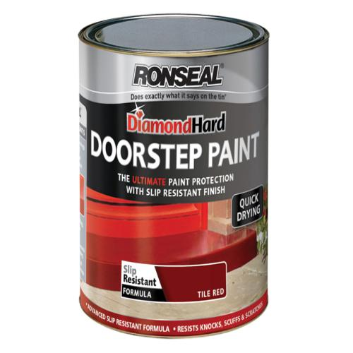 Red Paint For Doorstep